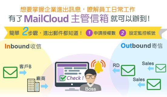 主管信箱新功能預告-開放管理介面自行設定